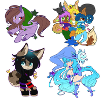Commission Batch by QueenAshi