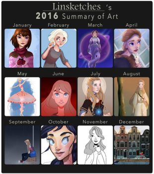 Art Summary by Linsketches