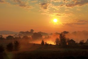 Sunrise in Czech republic by AlexandraSaschaBelik