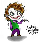 The Joker cartoon by Andres-Morales