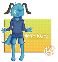 Artie Rules by BearyFunny