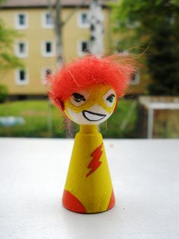 Cones: Kid Flash Wally by Poison-Harley