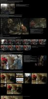 Revelations 2 photoset behind the scenes by TotenPF