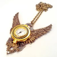 Working Watch Necklace by SteamDesigns