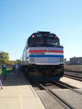 Amtrak Anniversary Train by alizara