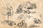 just some sketchies by Novawuff