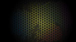 Neon Honeycomb Wallpaper by K3nny94
