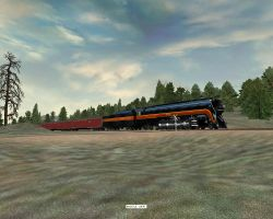 MSTS 611 over Donner Pass by 736berkshire