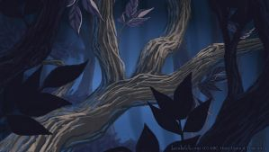 OUAT Fractured Family Tree, Close up by becsketch