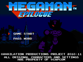 MegaMan Epilogue Title Screen by Availation