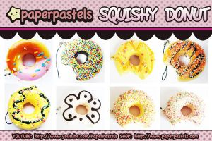 squishy donuts vol 1 by circuskillers