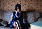 Ciel smile cosplay by TheArtOfMuffin