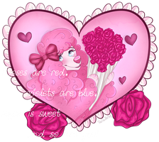 Valentine Poodle by PinkPoodle543