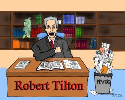 False Preacher: Robert Tilton by ArtNGame215