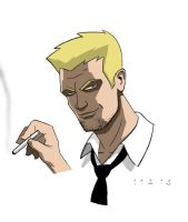 "Hellblazer ""Animated"" 2 by misterbitter"