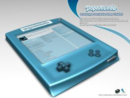 Popomundo Portable Game Tablet by AlperEsin
