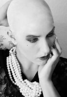 a beautiful face needs space - baldness by tineself