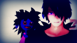 Disturbing Doll on Your Right Shoulder XD by RegalClaw