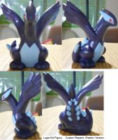 Shadow Lugia Repaint by PleinairBunny