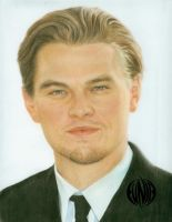 pastel portrait: leo. dicaprio by eymage