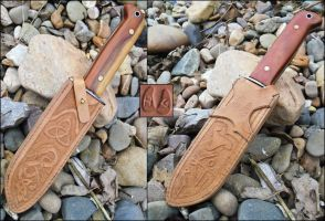 Custom MOD Knife Sheath by Half-Goat