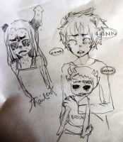 Karkat-Equius nerps by Costly