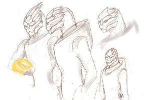 Lady Turian by Hanna-Fia