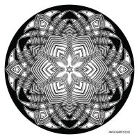 Mandala drawing 40 by Mandala-Jim