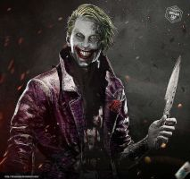Jared Leto Joker Injustice 2 by Bryanzap