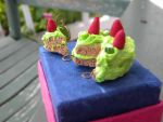 Lime Green Cake by SelexiaOfTheHeart