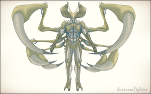 Gaius Demon Form by Arrancarfighter