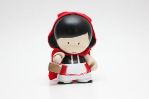 Little Red Riding Hood Munny by spilledpaint88