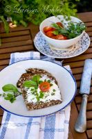 Bread with herbs by Lily-of-the-Vallley