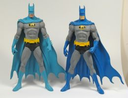 Batman paint comparison by BLACKPLAGUE1348