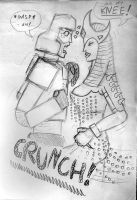Crunch by LadyScale