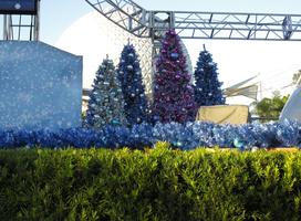 Stage Decorations at Epcot by WDWParksGal-Stock