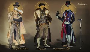 Commission: Outfit Designs by Hassly