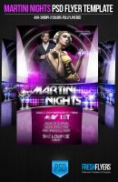Martini Nights FREE PSD DOWNLOAD! by ImperialFlyers