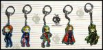 Avengers Keychains by AppleToxicity