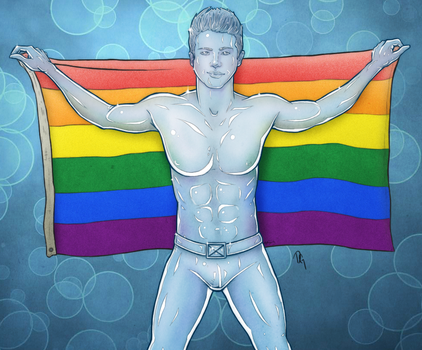 It's Cool To Be Gay (Iceman) by dephigravity