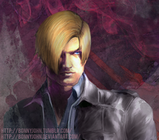 Leon S. Kennedy w/ Speed Painting by BonnyJohn