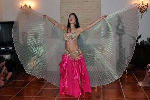 Wings Belly Dance 05 Stock by LoryenZeytin