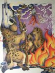 Hyena Shamanism by Cailey5586