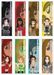 Chibi Digiworld:HD Bookmarks Part 2 by DannimonDesigns