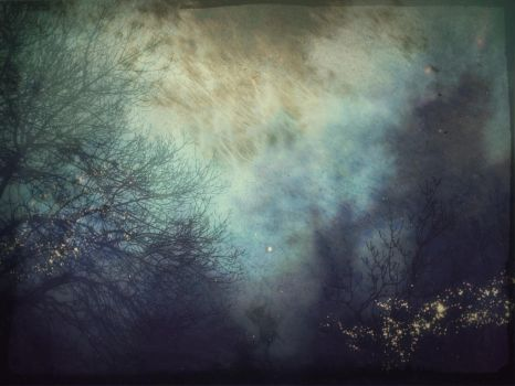 This gloomy mood|multiexposure by Sugar-Sugar-Bee