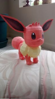 Eevee Papercraft by Amber2002161