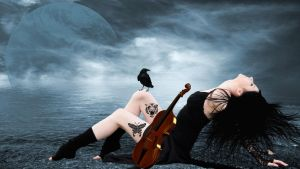 Violinist of the Sea by AnfisaS