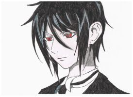::Art Trade:: Sebastian Michaelis by SaikoRapture
