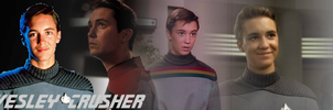 Wesley Crusher Banner by SailorTrekkie92