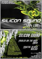 SILICON SOUND A5 Flyer by edit-dsn